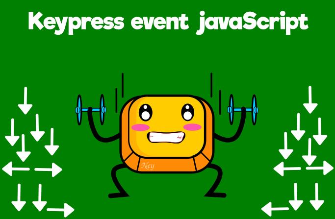 keypress javaScript